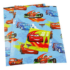 cars wrapping paper disney cars gift wrap wrapping paper at the works