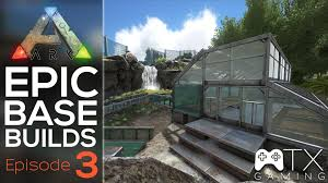 ark epic base build ep3 green house youtube