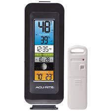 Patio Thermometer by Shop Thermometer Clocks At Lowes Com