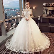 wedding dresses high ivory pierced wedding dresses 2018 gown high neck