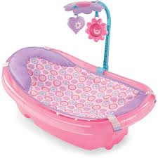 Infant To Toddler Bathtub Summer Infant Sparkle Fun Newborn To Toddler Baby Tub With Toy Bar
