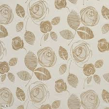 Microfiber Material For Upholstery And White Abstract Rose Flover Linen And Microfiber Upholstery Fabric