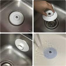 bouchon d evier cuisine durable silicone cuisine évier tamis filtre baignoire évier drain de