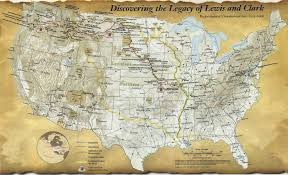 Map Of Louisiana Purchase Map Of The Lewis And Clark Expedition 1804 1806