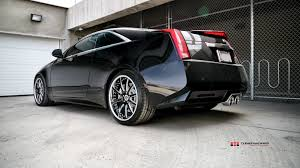 cadillac cts coupe rims 2011 cadillac cts v coupe with 20 modulare m15 black brushed 2