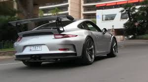 porsche gt3 grey video silver 2016 porsche 911 gt3 rs tackles monaco gtspirit