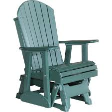 Luxcraft Outdoor Furniture by Recycled Plastic 2 U0027 Adirondack Glider Chair Rocking Furniture