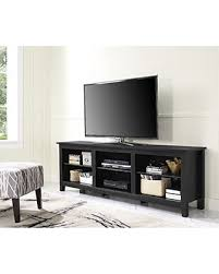 media consoles furniture new savings on we furniture 70 black wood tv stand media console