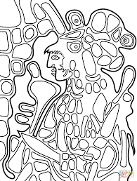 the great earth mother by norval morrisseau coloring page free