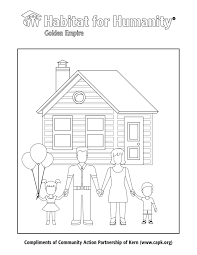 habitat for humanity golden empire coloring sheet capk