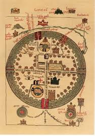 Map Of Jerusalem 13th Century St Omar Map Of Crusader Jerusalem Obsessed With