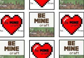 minecraft valentines minecraft s treats with free printables