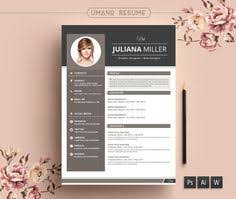 Artistic Resume Template Creative Resume Template Cv Template Instant By Cvdesignco On Etsy