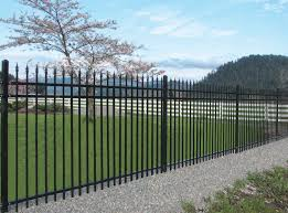 iron fence ornamental how to choose best design garden for