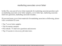 sample marketing cover letter marketing cover letter sample