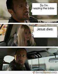 Rock Meme - funny the rock meme bible spoiler