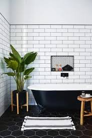 Subway Tiles In Bathroom 10 Beyond Stylish Bathrooms With Patterned Encaustic Tile White