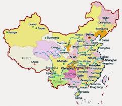 Guilin China Map by Zhangjiajie National Forest Park China China Map