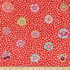 kaffe fassett home decor fabric kaffe fassett collective guinea flower apricot discount designer