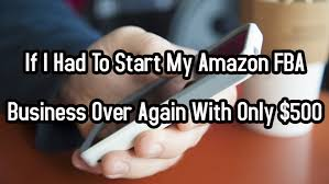 black friday for amazon fba if i had to start my amazon fba business over again with only 500