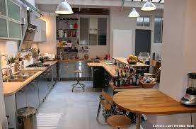 cuisine sans meuble haut cuisine sans meuble haut with industriel cuisine décoration de
