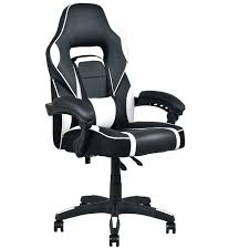 Recliner Gaming Chairs Giantex Modern Executive Racing Style Gaming Chair High Back