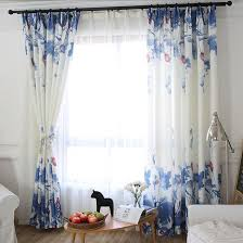 Blue And White Floral Curtains Nobby Design Curtains Blue And White Floral Curtains Ideas