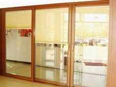 bifold patio doors fold and open in its middle part they have