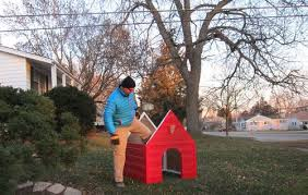 snoopy christmas dog house building snoopy s dog house for christmas eagle scout project