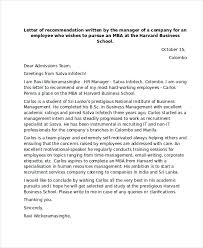 bunch ideas of harvard mba recommendation letter sample with