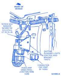 1994 ford explorer fuse box diagram ford explorer 1994 dash electrical circuit wiring diagram
