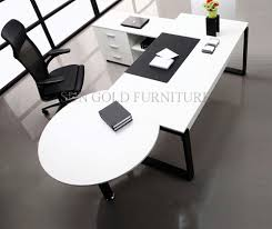 white simple desk china modern white simple high quality manager executive with vice