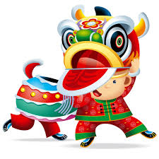 chinese new year lion dance clipart clipartxtras