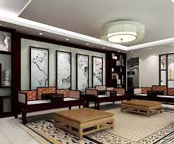 Chinesestyle Living Room Coffee Table Decoration Interior Design - Chinese living room design