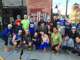fun run with bryant st at sports basement potrero hill in san