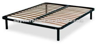 Slatted Bed Frames Slatted Bed Frame Reinforced Steel Bed Frame With Bamboo Slats Buy