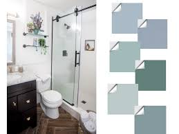 what color goes with brown bathroom cabinets what accent color will go with my brown marble in my