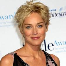 60 most prominent hairstyles for women over 40 blonde pixie