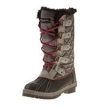womens boots elder beerman weatherproof gracie lace up duck boots boston store