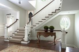 Banister And Spindles Front Entry And Main Staircase With Spiral Balusters And Oval