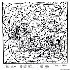 coloriage magique fractions