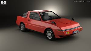 mitsubishi starion 360 view of mitsubishi starion turbo gsr iii 1982 3d model hum3d