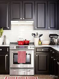 black kitchen cabinets in a small kitchen 30 kitchen decorating ideas you can do in a weekend