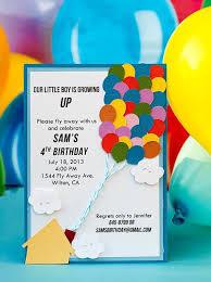 balloon birthday party invitation wording image inspiration of
