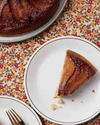 pears add sophistication to upside down cake pear cake and
