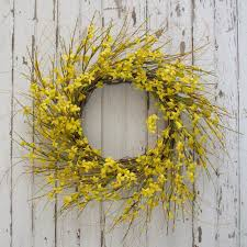 forsythia wreath golden forsythia wreath white house marketplace