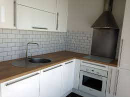 cuisine blanc brillant meuble de cuisine blanc brillant meuble cuisine ikea ringhult