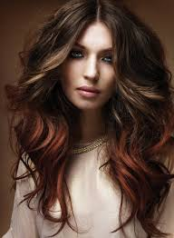 hairstyle for long brunette hair color brunette hair color