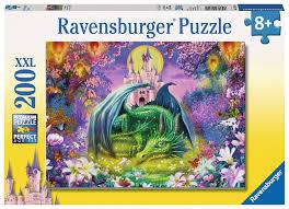 castle protector puzzle by ravensburger 12820 200 pcs eugene