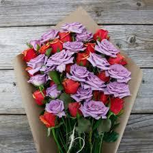 lavender roses lavender orange tea bouquet the bouqs co